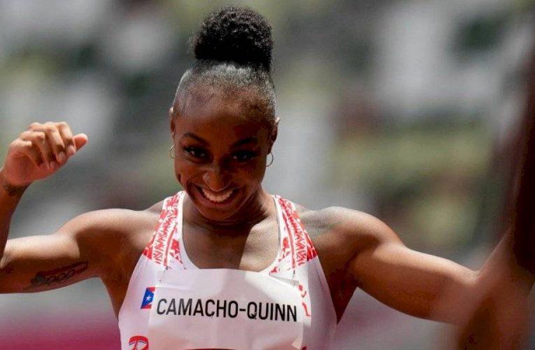 Puertorriqueña Jasmine Camacho-Quinn rompe récord olímpico y va por el oro